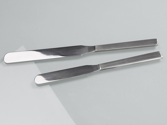 Palette knife spatula stainless steel, 200 mm & 250 mm